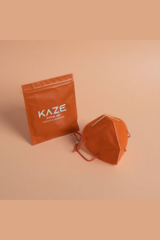 Kaze-FFP2-Maske-Orange