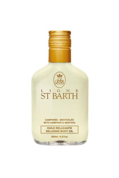Ligne St. Barth Relaxing Body Oil Camphor Menthol 200ml